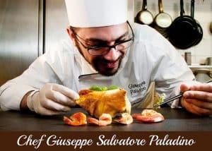 Copertina Chef Giuseppe Paladino