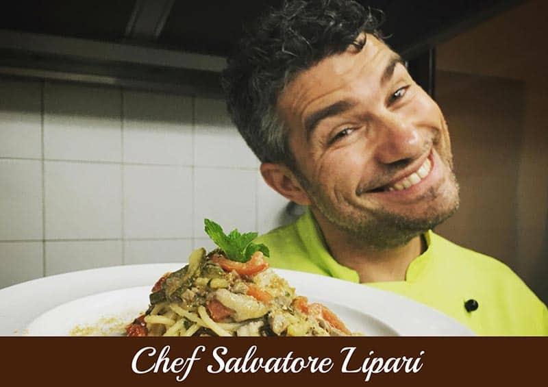 Copertina Chef Salvatore Lipari