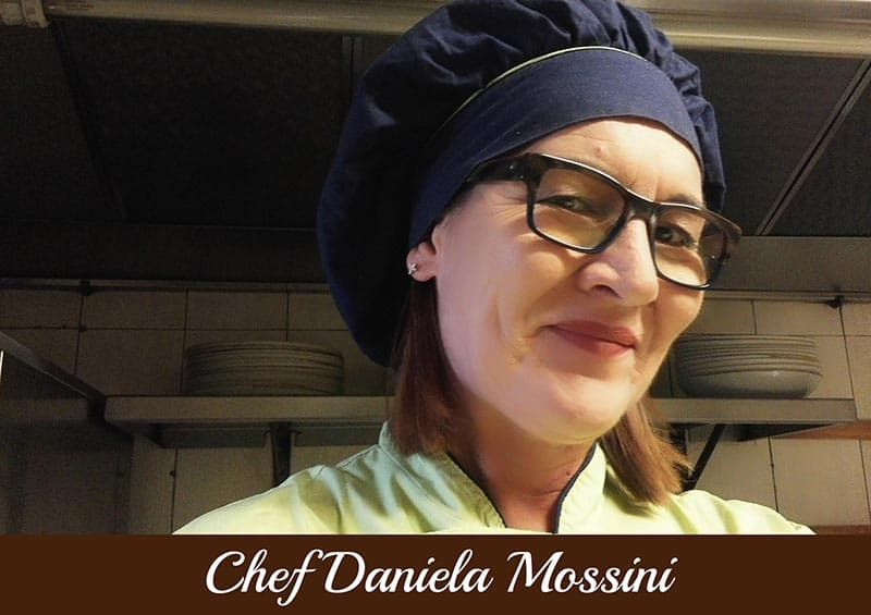 Copertina Chef Daniela Mossini