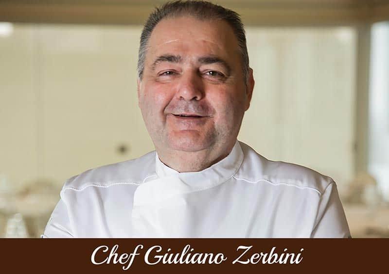 Copertina Chef Giuliano Zerbini