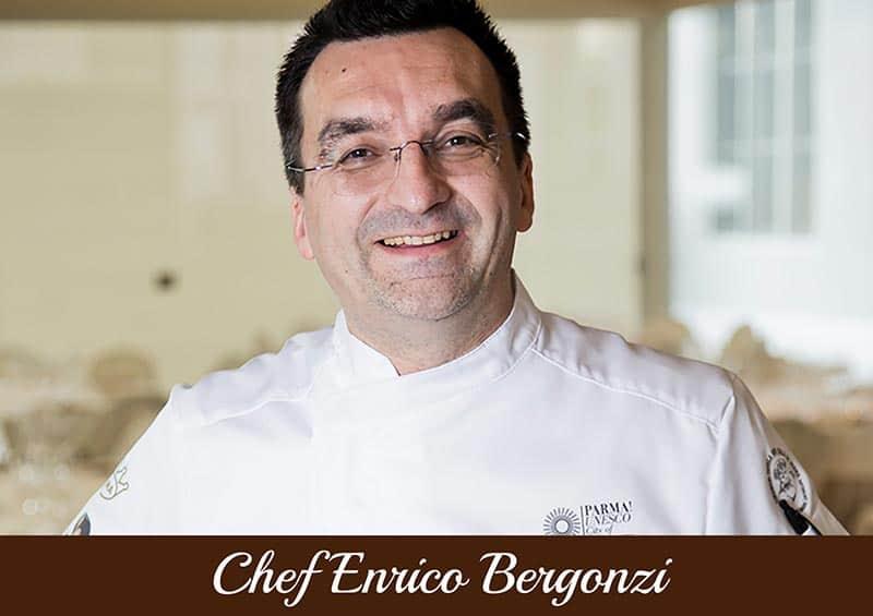 Copertina Chef Enrico Bergonzi