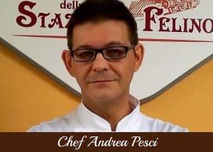Copertina Chef Andrea Pesci