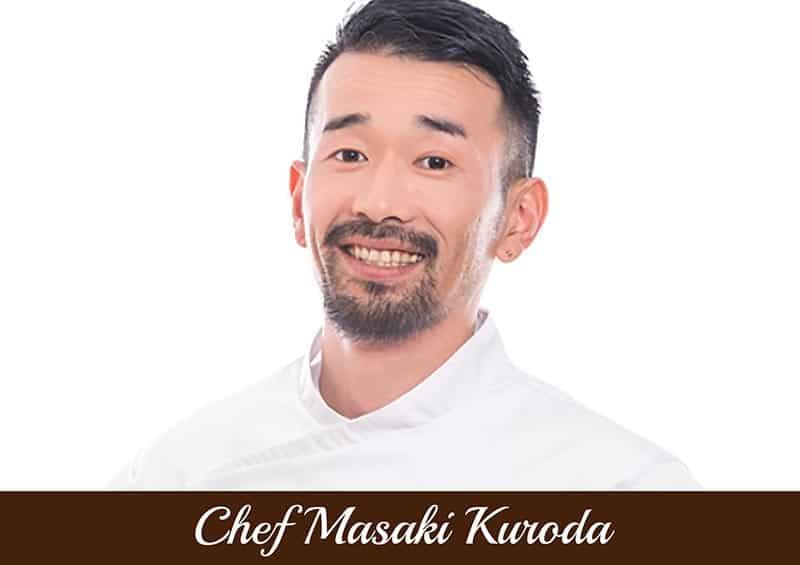 Copertina Chef Masaki Kuroda