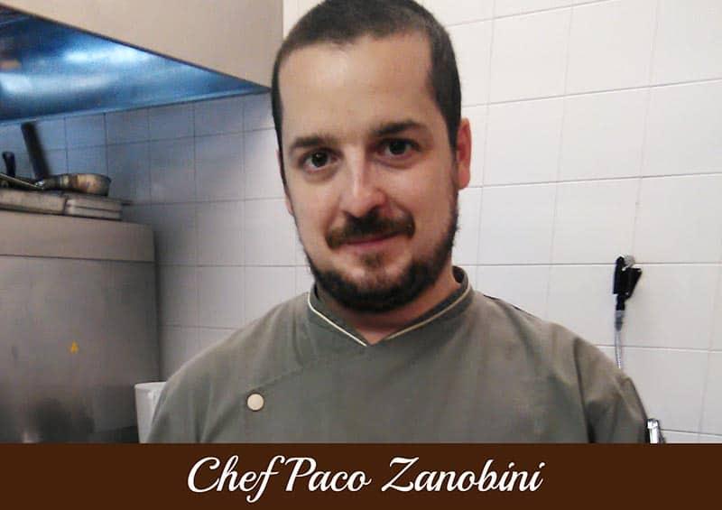 Copertina Chef Paco Zanobini