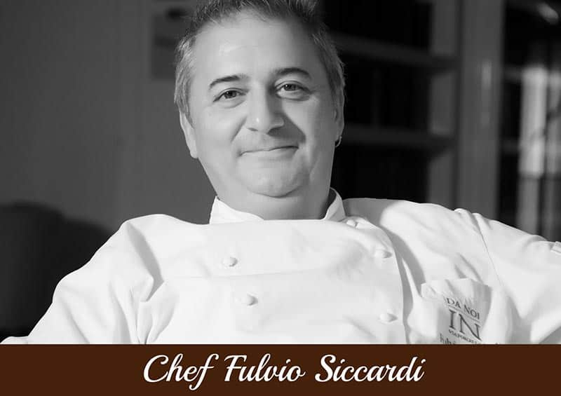 Copertina Chef Fulvio Siccardi