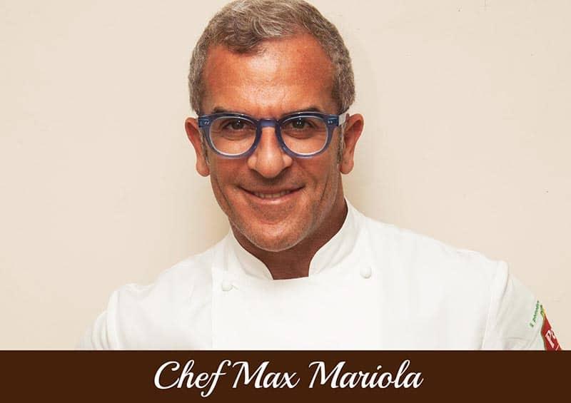 Copertina Chef Max MAriola