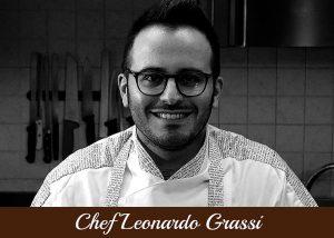 Copertina Chef Leonardo Grassi
