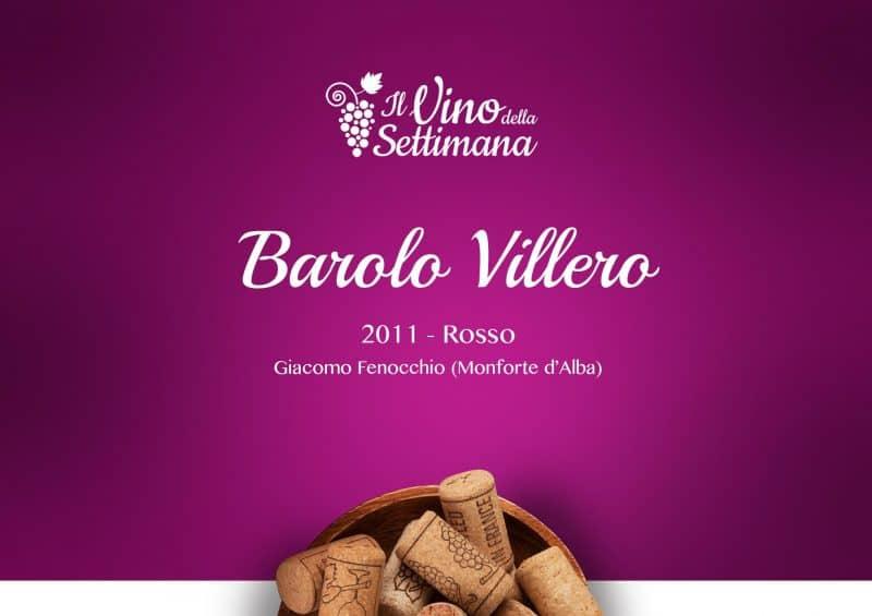Barolo Villero - 2011