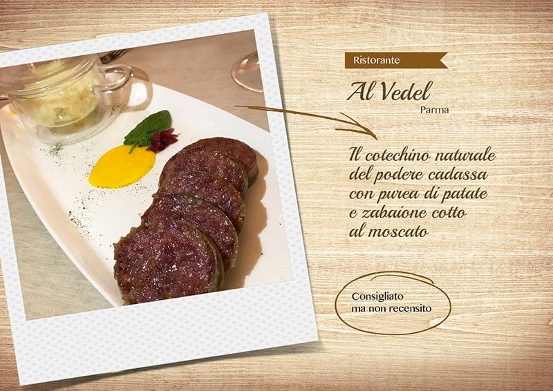 Ristorante Al Vedel - cotechino