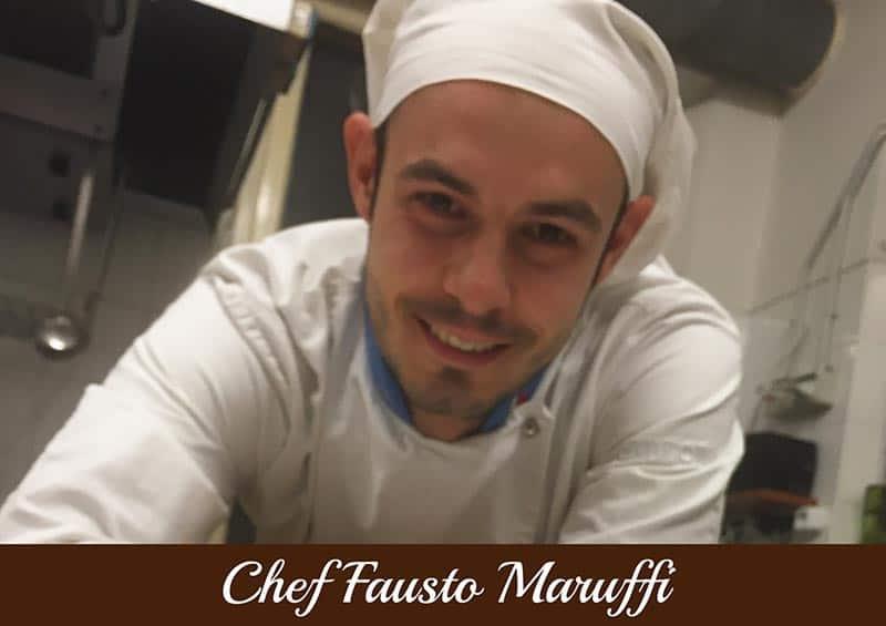 Copertina Chef Fausto Maruffi