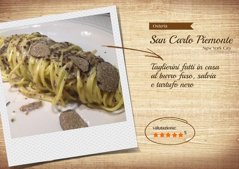 Ristorante Osteria San Carlo - New York