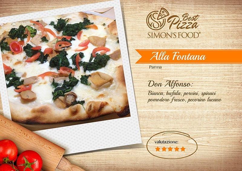 Pizzerie di Parma e dintorni scelte da Simon - Alla Fontana