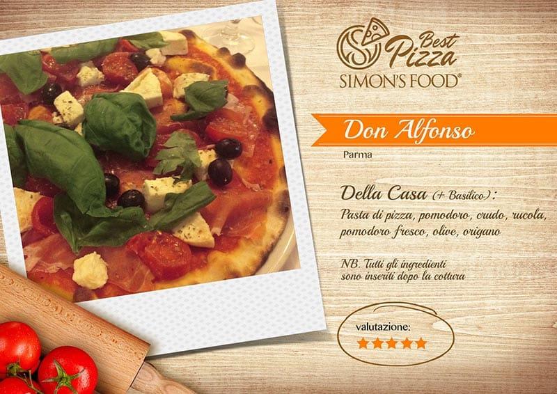 Pizzerie di Parma e dintorni scelte da Simon - Don Alfonso