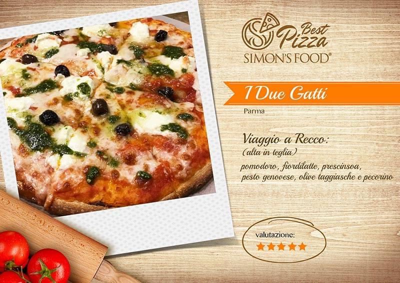 Pizzerie di Parma e dintorni scelte da Simon - I 2 Gatti