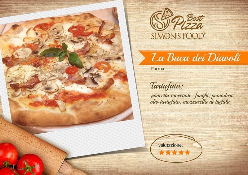 Pizzerie di Parma e dintorni scelte da Simon - La Buca dei Diavoli