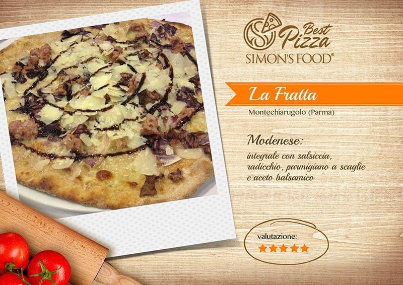 Pizzerie di Parma e dintorni scelte da Simon - La Fratta