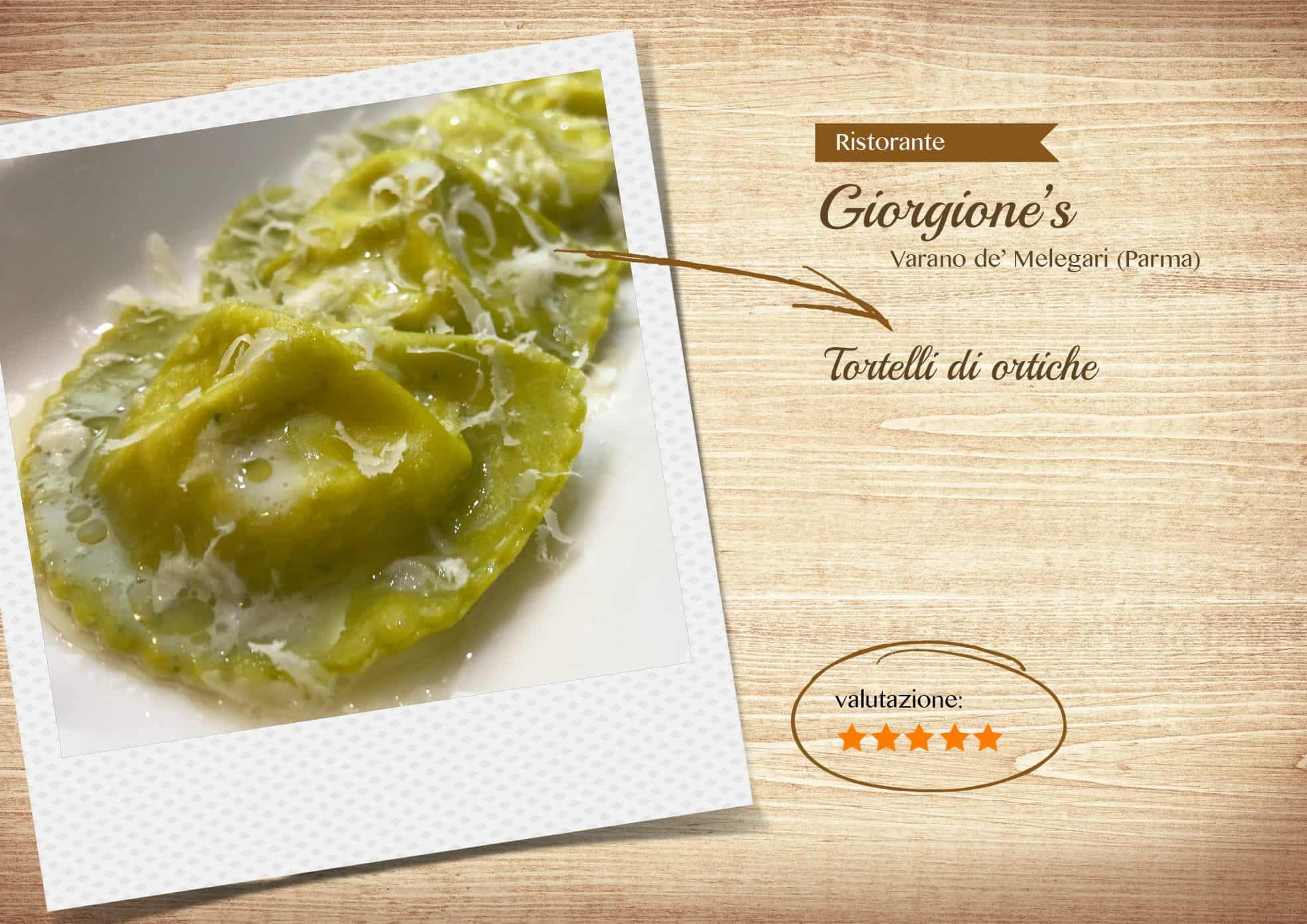 Ristorante Giorgione's - Parma