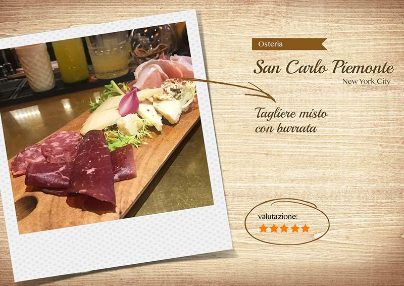 Ristorante Osteria San Carlo - tagliere-sito