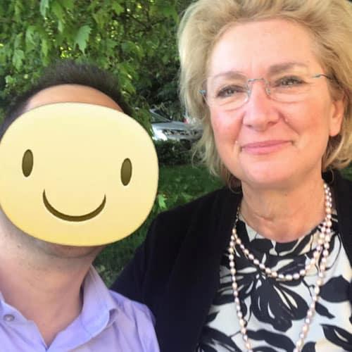 Simon con Antonella Bondi Imprenditrice e creatrice delle Fragranze Alimentari per Chef