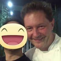 Con lo Chef Enrico Cerea del Ristorante Da Vittorio - 3 stelle Michelin