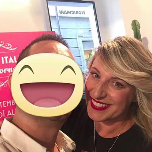 La comica e presentatrice Katia Follesa