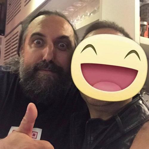 Il pizzaiolo e patron Giovanni Mandara della pizzerai Piedigrotta a Reggio Emilia