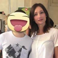 Simon con la Blogger Sonia Paladini