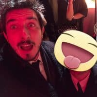 Simon con Paolo Ruffini