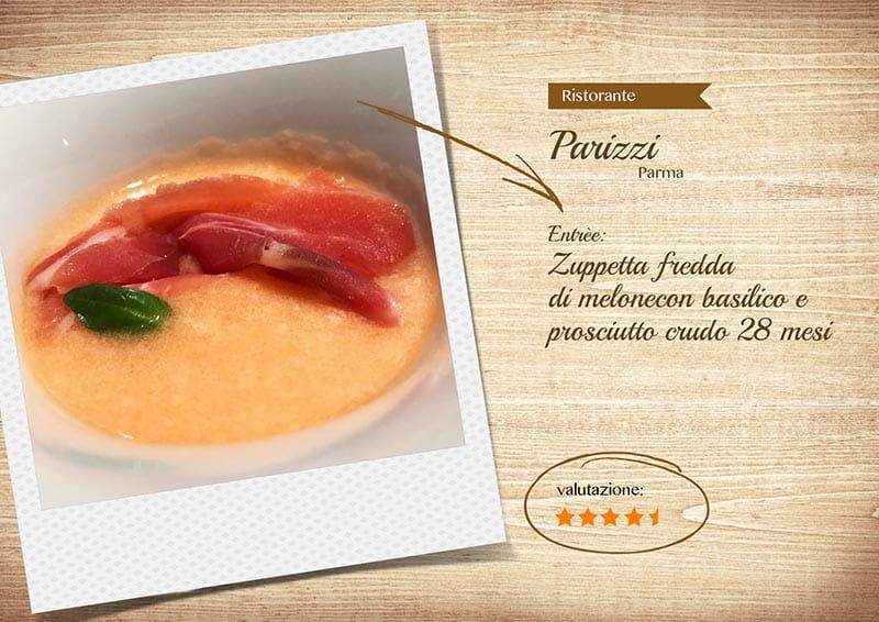 Ristorante Parizzi - melone
