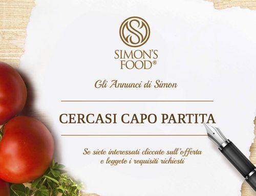 Cercasi Capi Partita per apertura nuovo ristorante a Milano
