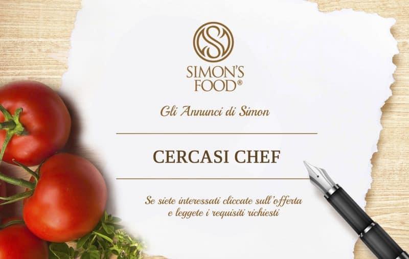 Annuncio di lavoro - Chef - Simon Italian Food