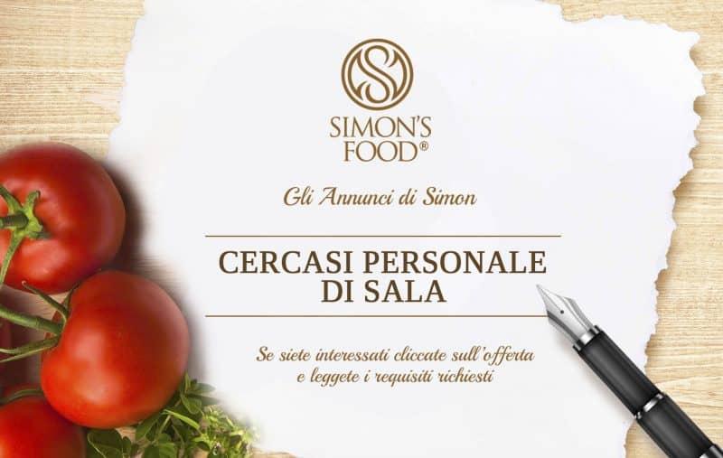 Annuncio di lavoro - Personale - Simon Italian Food