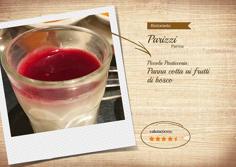 Ristorante Parizzi - pannacotta