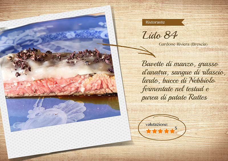 Ristorante Lido84 - manzo