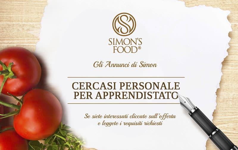 Annuncio di lavoro - Stage Personale - Simon Italian Food