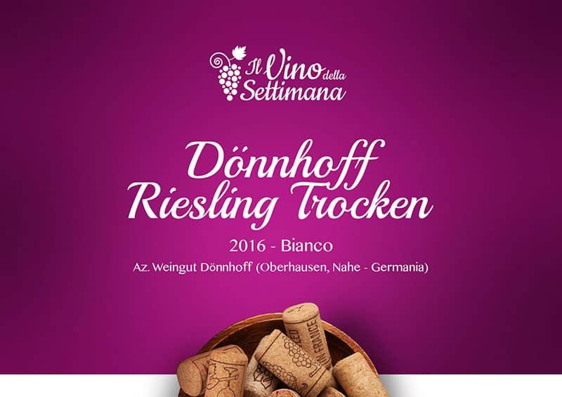 Copertina -Dönnhoff Riesling