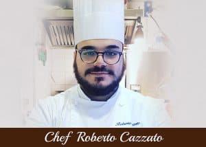Copertina Chef Roberto Cazzato