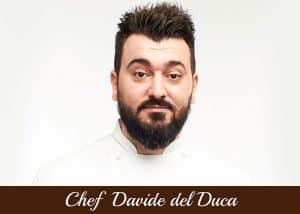 Copertina - Davide del Duca - vita da chef