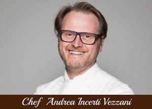 copertina Chef Andrea Incerti Vezzani