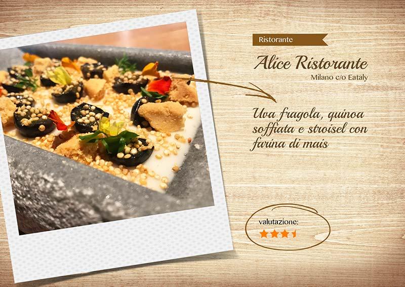Alice Ristorante -biancomangiare