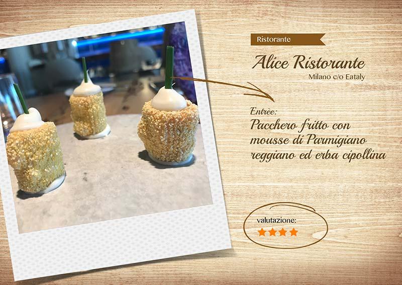 Alice Ristorante -pacchero