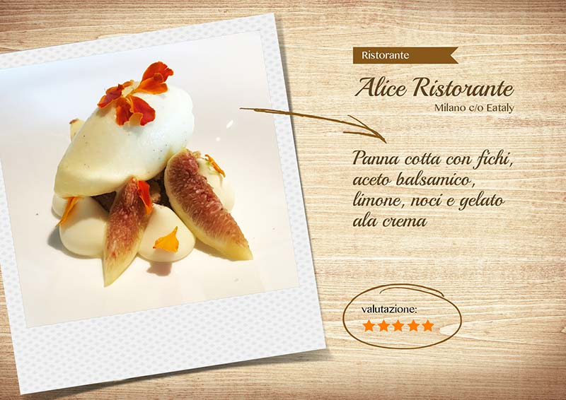 Alice Ristorante -pannacotta