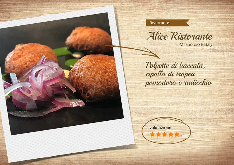 Alice Ristorante -polpette