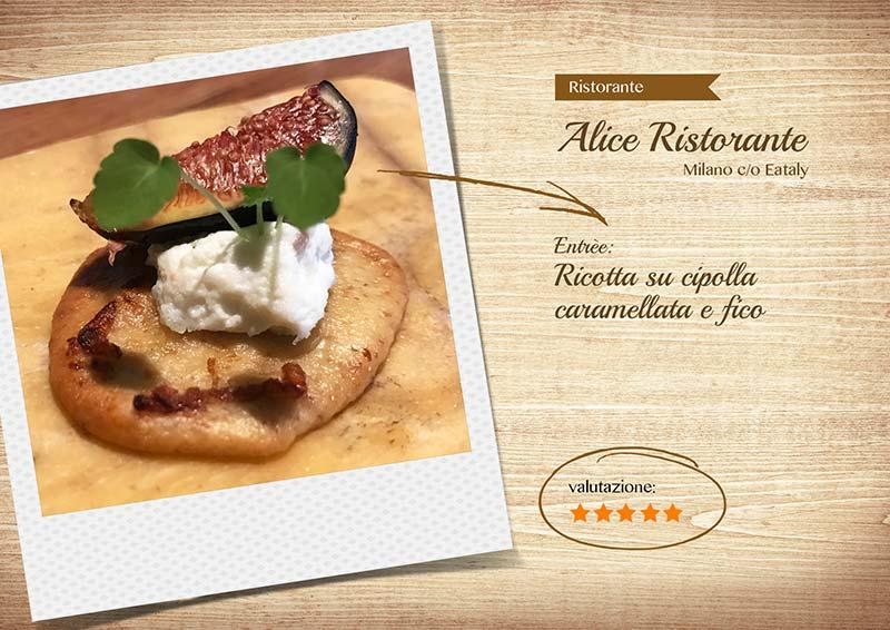 Alice Ristorante -ricotta