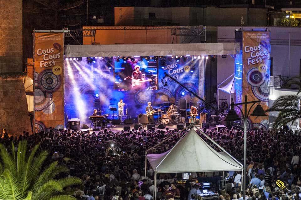 Cous Cous Fest, zona concerti