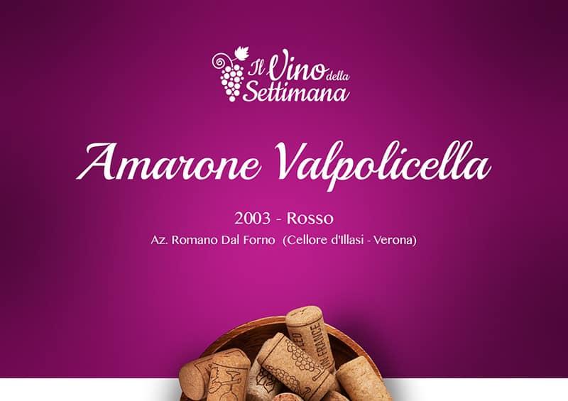 Copertina - Rubrica vino - Amarone