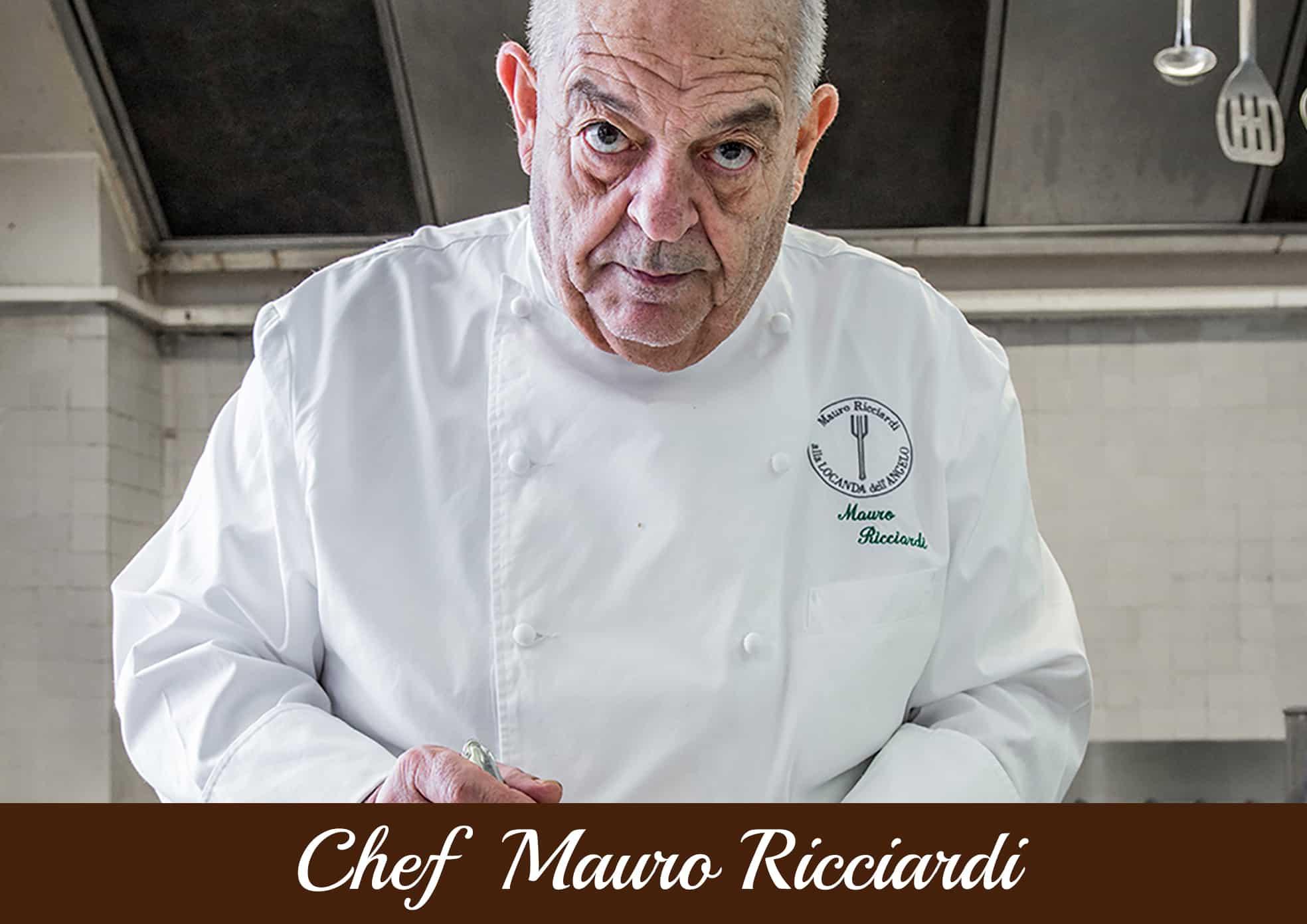 Copertina Chef - Mauro Ricciardi