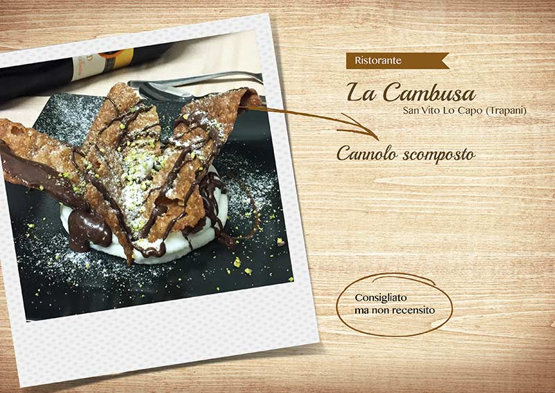 Ristorante La Cambusa - cannolo