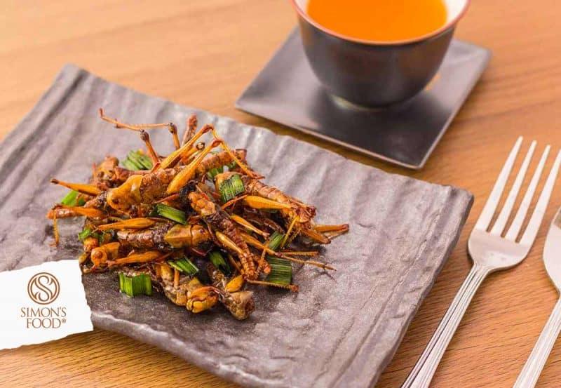 insetti a tavola