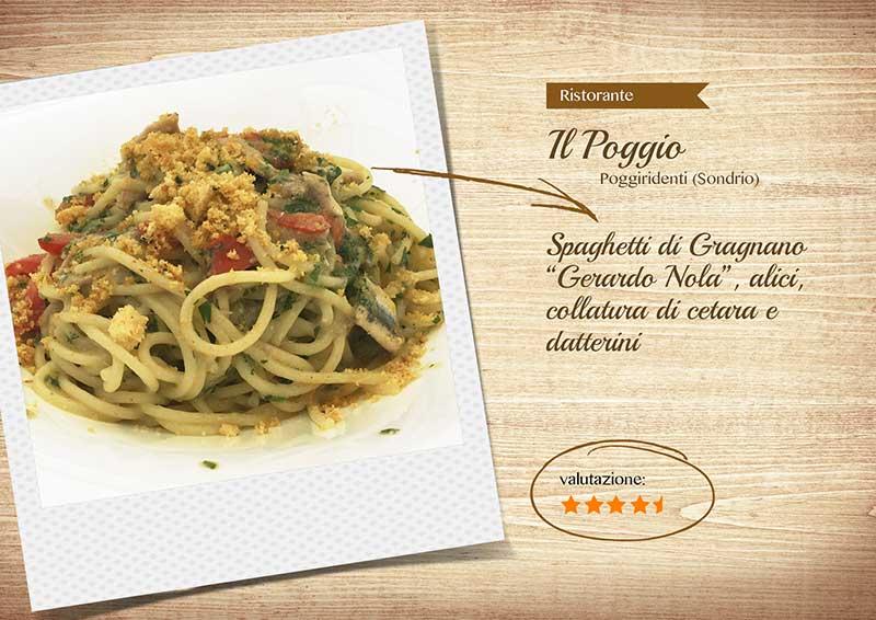 Ristorante il Poggio - spaghetti